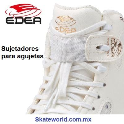 Sujetadores para agujetas EDEA