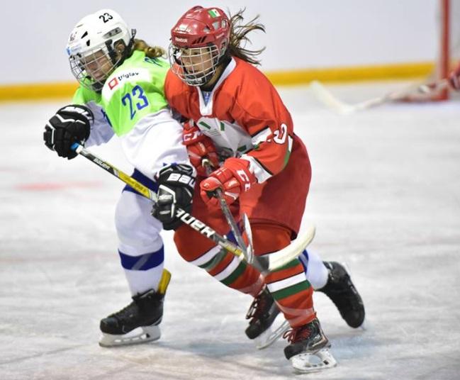 Selección Mexicana de Hockey sobre Hielo Femenil